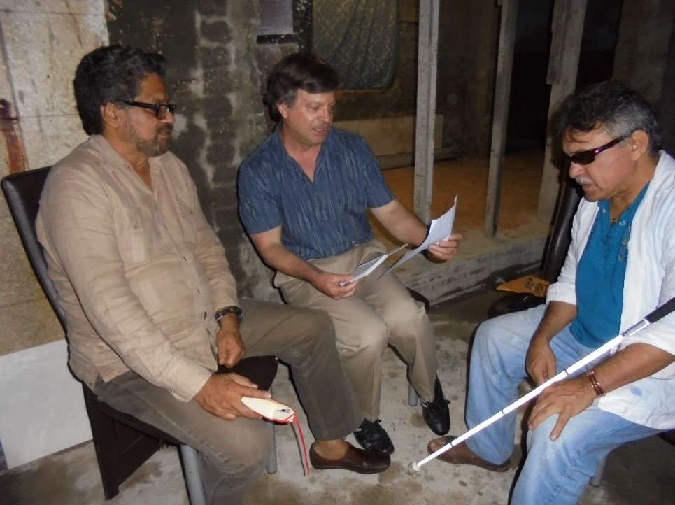 Author with Marquez Santrich